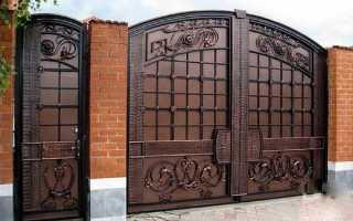 Ширина калитки в заборе: стандартные размеры из профнастила, евроштакетника и штакетника