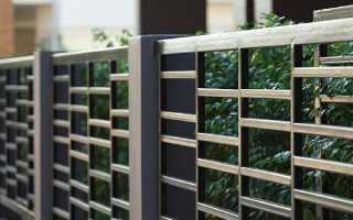 Забор из профильной трубы: пошаговая инструкция и фото