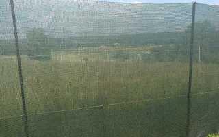 Забор из фасадной сетки своими руками: фото, пошаговый монтаж на видео