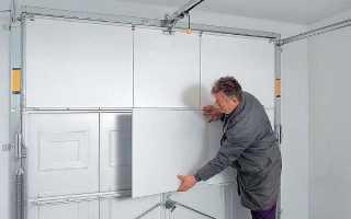 Как утеплить гаражные ворота изнутри своими руками: пенопласт, пеноплекс, пенополистирол