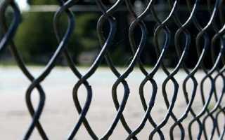 Заборы для дачи из сетки рабицы: фото красивых ограждений, секционные варианты