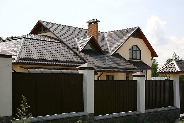 Крыша и ограда