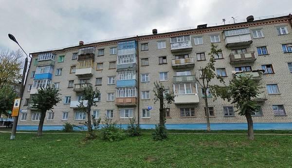 Брежневский тип дома