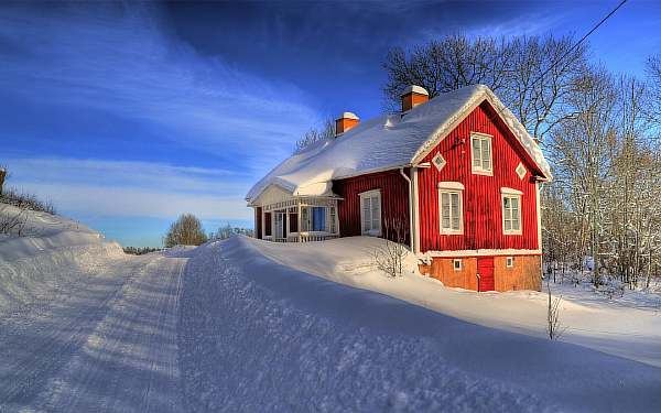 На каком расстоянии можно строить дом
