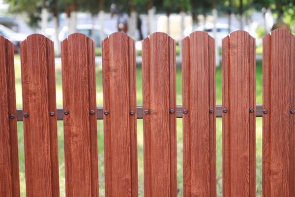 Планки ограды