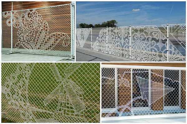 Закрываем ограду