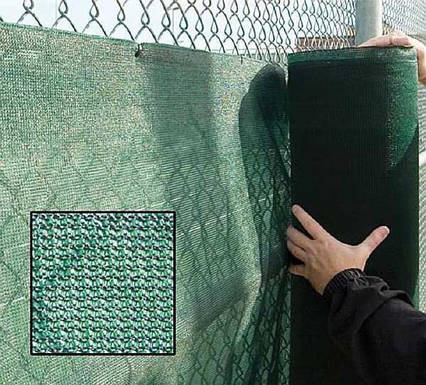 Чем закрыть забор из сетки рабицы от соседей