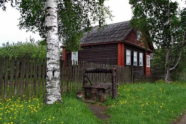 Около дома
