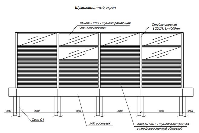 Схема для шумозащиты