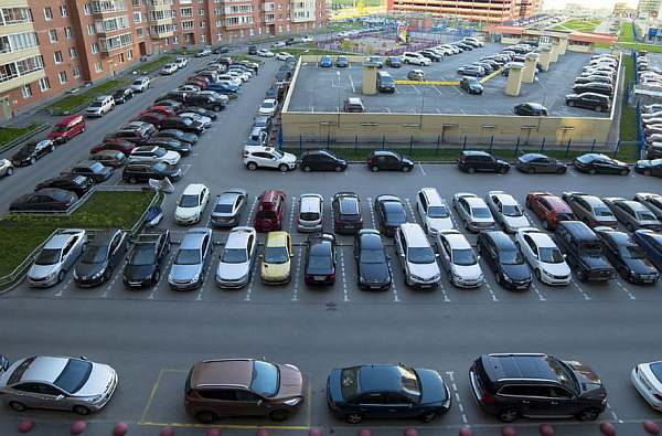Расстояние от парковки до жилого дома