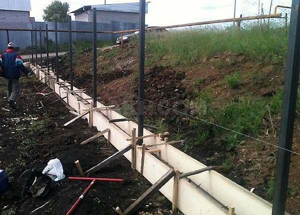 Лента для ограды