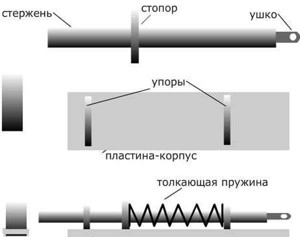 Схема защелки