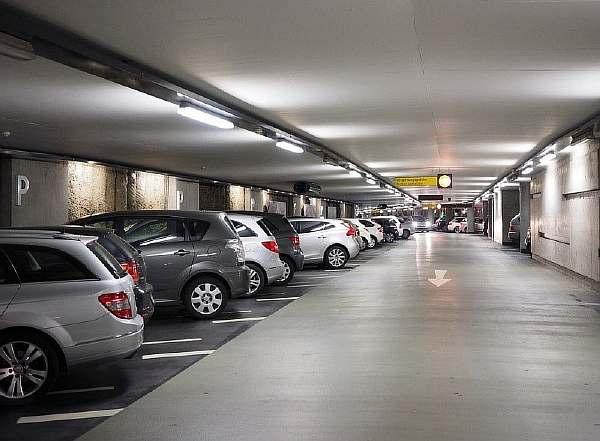 Паркинг под домом