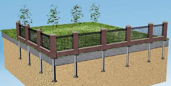 Эскиз ограды